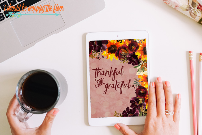 Thankful and Grateful Wallpaper