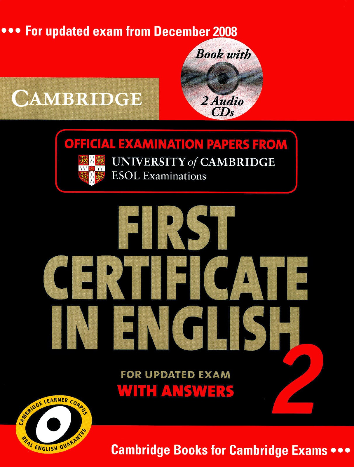 Cambridge First Certificate in English (FCE)