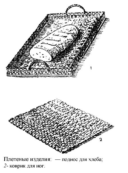 как сплести коврик