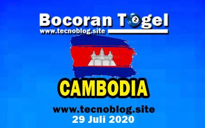 Bocoran Togel Cambodia 29 Juli 2020
