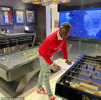 Video: Paul Pogba shares an incredible view of his £3m mansion