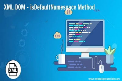 XML DOM - isDefaultNamespace Method