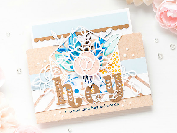 Hey Friend - Pinkfresh Studio + The Stamp Market   Turning Envelopes into Cards