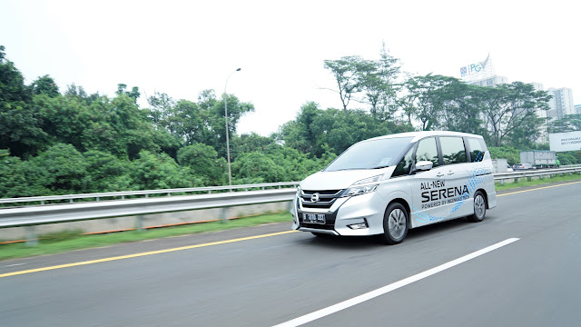 review all new nissan serena