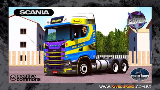 SCANIA S730 - ROML CARGO