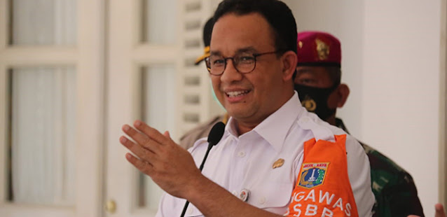 Gubernur Anies Kembali Perpanjang PSBB Masa Transisi Hingga 6 Desember
