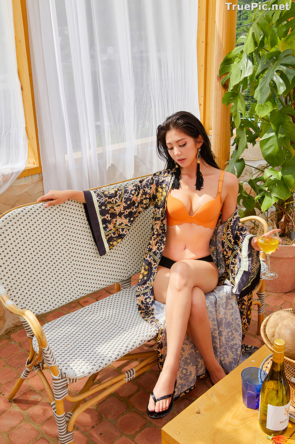 Image Korean Fashion Model – Lee Chae Eun (이채은) – Come On Vincent Lingerie #6 - TruePic.net - Picture-2