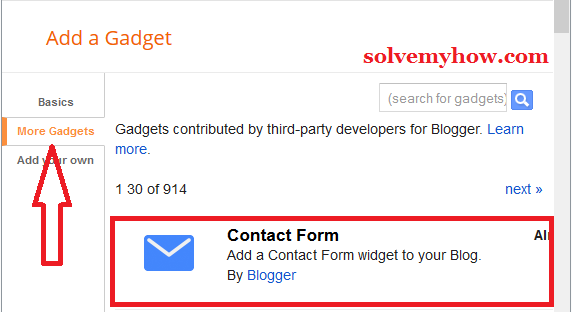 Create Professional Contact Form In Blogger