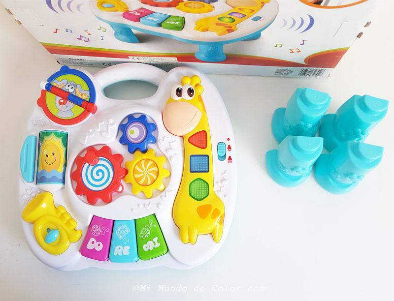 juguete tablero musical babyedu eroski