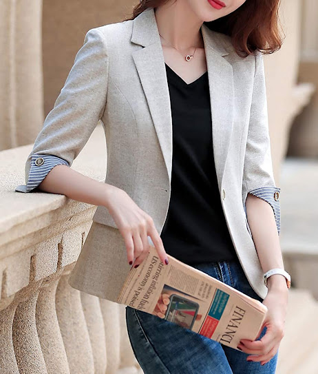 Fitted Blazers for Women