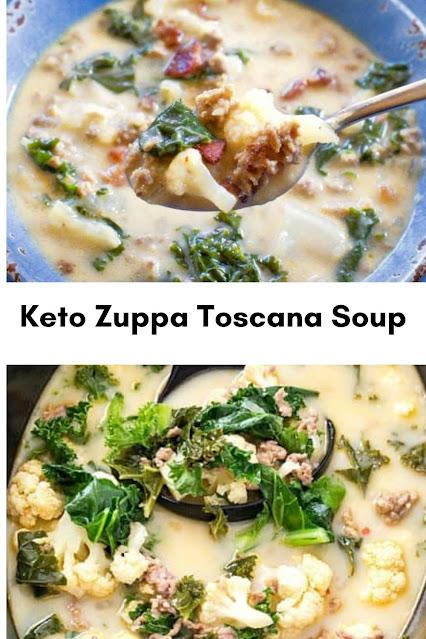 Keto Zuppa Toscana Soup