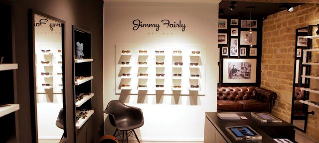Onde comprar óculos de sol em Paris: loja Jimmy Fairly