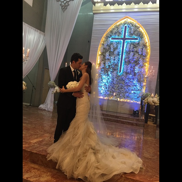 Toni Gonzaga and Paul Soriano Wedding