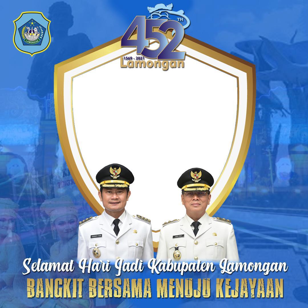 Link Download Bingkai Twibbon Ucapan Selamat Hari Jadi Lamongan ke-452 Tahun 2021