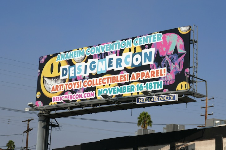 DesignerCon 2018 billboard