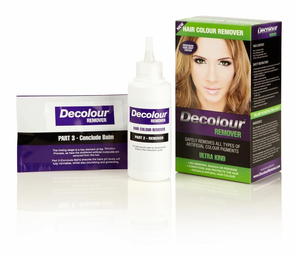 Removing hair color build up using Decolour hair colour ...