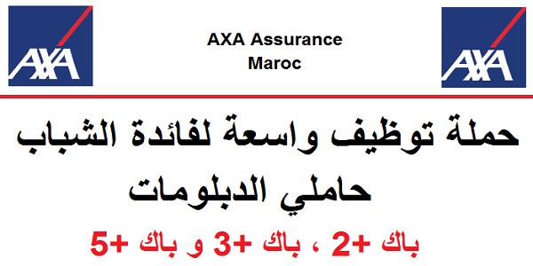axa Maroc emploi recrutement