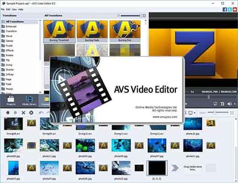 AVS Video Editor adalah aplikasi edit yang cukup simpel bagi pengguna yang mencari kemudahan.