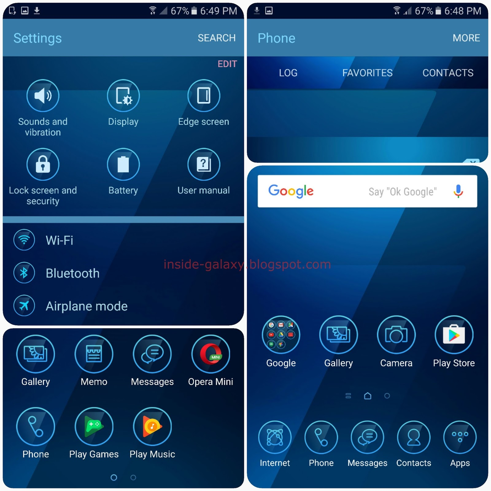 Samsung galaxy s7 edge themes | How To Download Samsung Galaxy S7