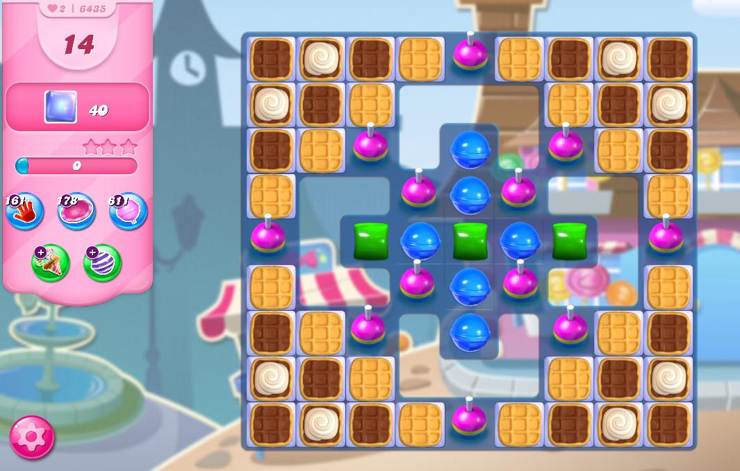 Candy Crush Saga level 6435