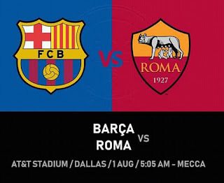 برشلونة و روما مباشر الآن