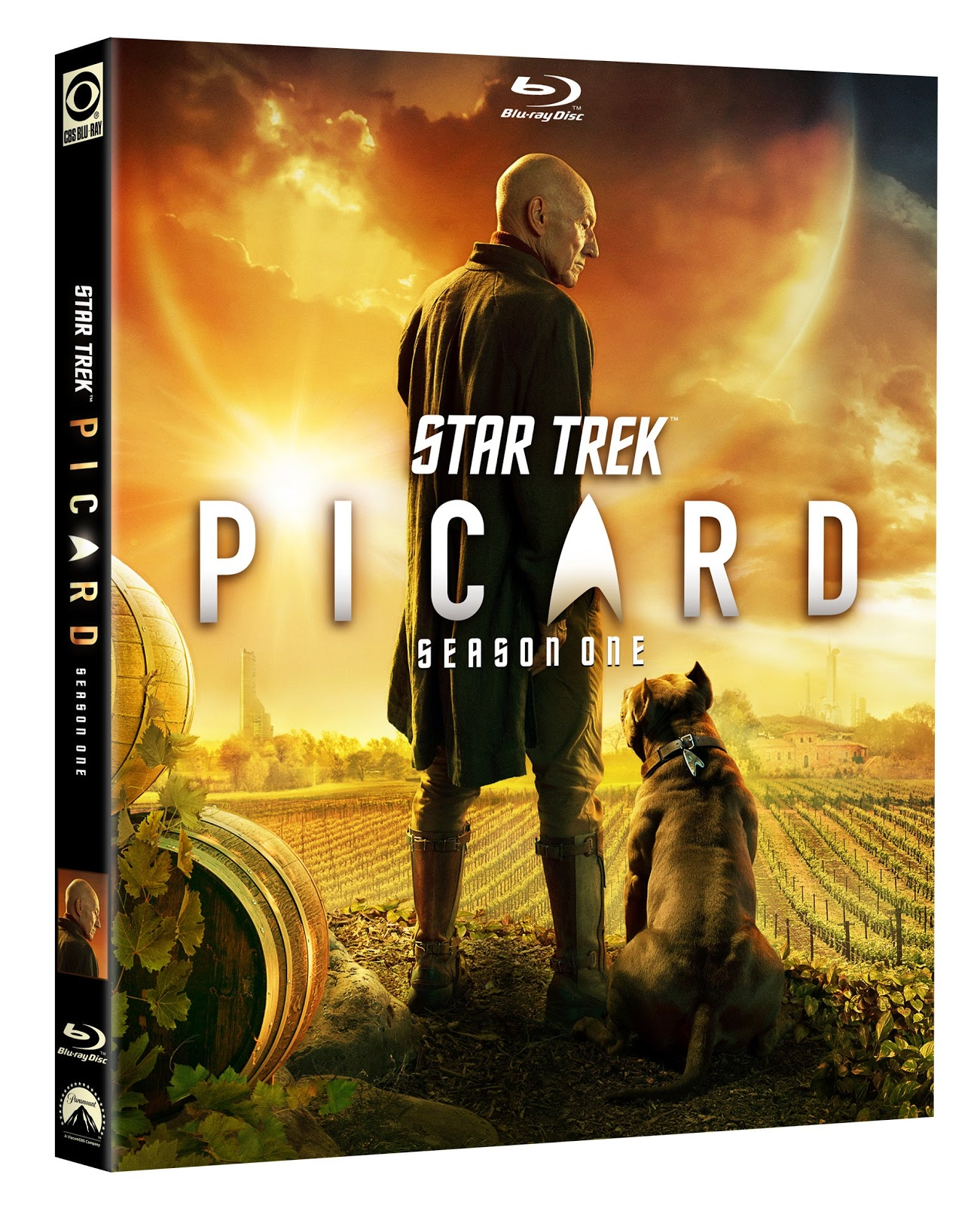 Star Trek Picard season 1 Blu-ray packaging