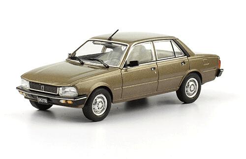 Peugeot 505 GR 1981 1:43 autos inolvidables argentinos 80 90