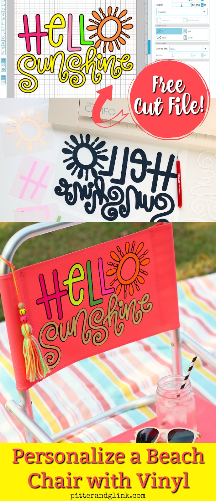 Personalized Beach Chair