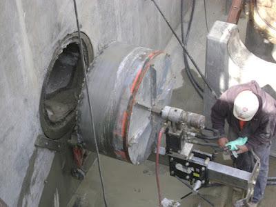 Khoan cắt bê tông khu công nghiệp Bình Chiểu