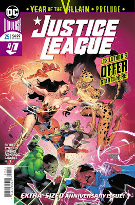 "Preview de ""Justice League"" num. 25, de Scott Snyder y Jorge Jimenez."