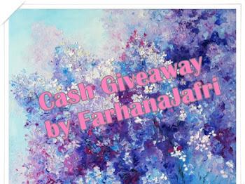 Cash Giveaway by FarhanaJafri
