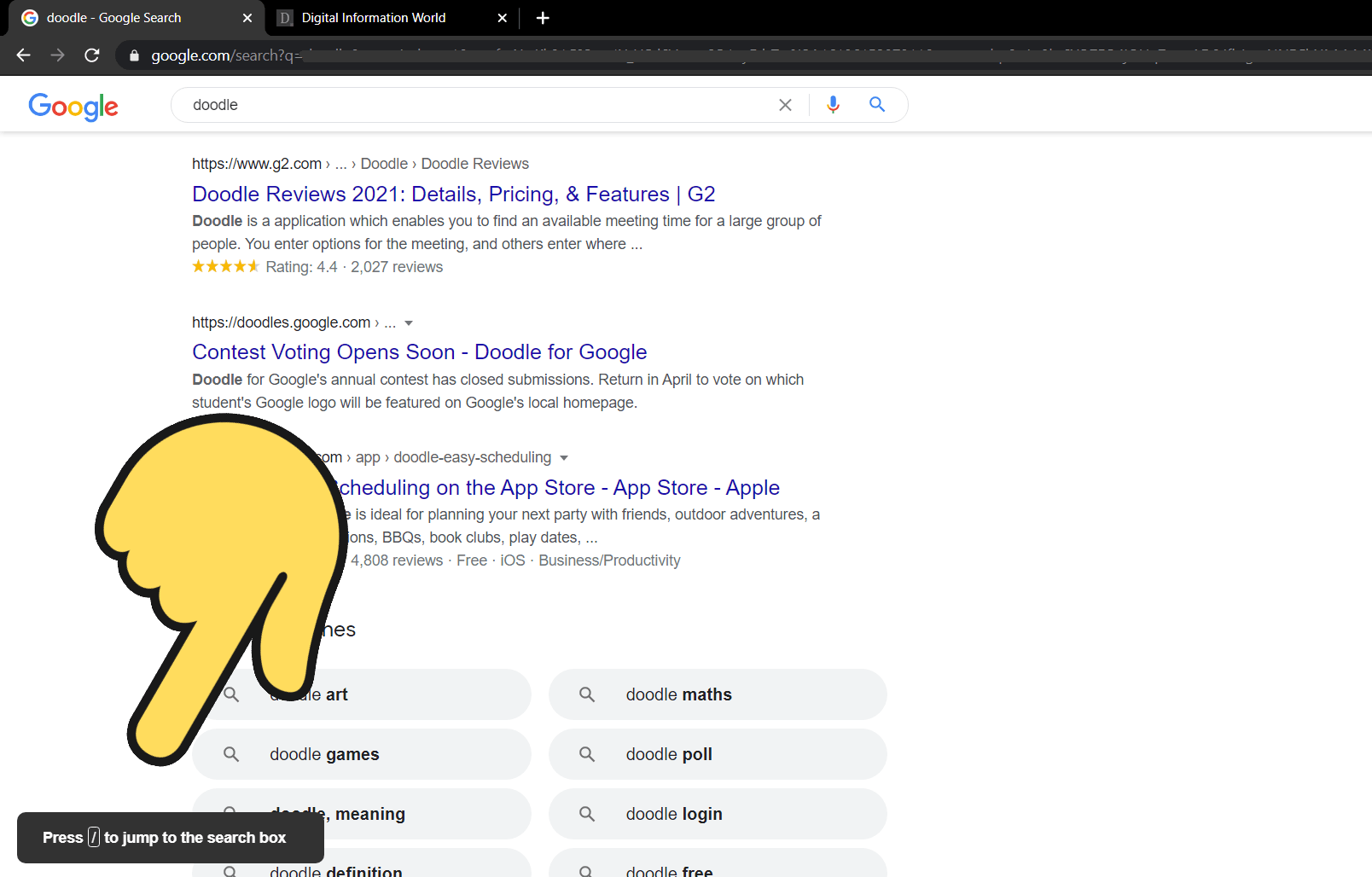 This quick hack makes it easy to search on Google, and it also works on YouTube / Digital Information World