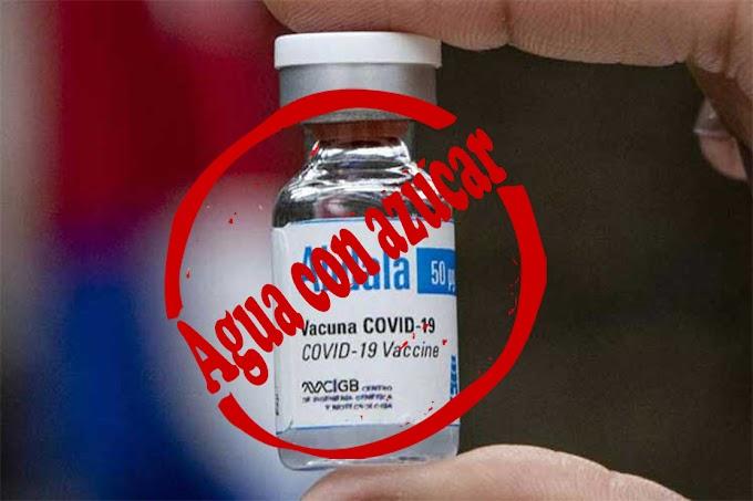 La OMS no aprueba el candidato vacunal Abdala, porque dicen que las muestras que presentaron los científicos cubanos, eran agua con azúcar