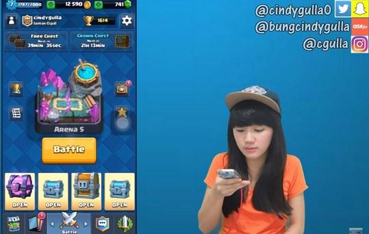 Cewek Cantik Profesi YouTuber Gaming Indonesia