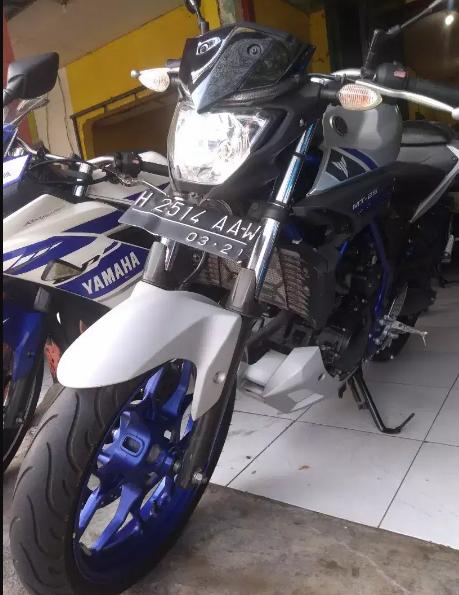 Jual Motor Bekas Yamaha MT 25 Termurah di Semarang