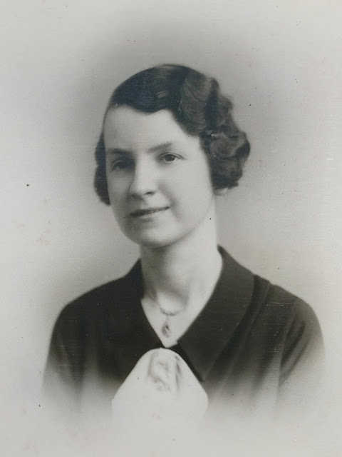 Gladys when young