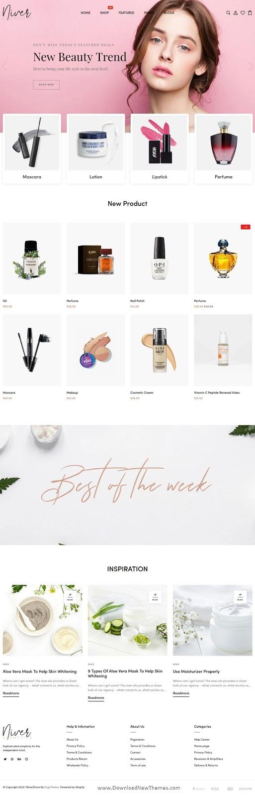 Cosmetics Shop Responsive Shopify Theme