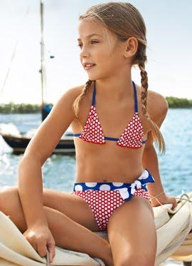 bikinis niña verano 2012