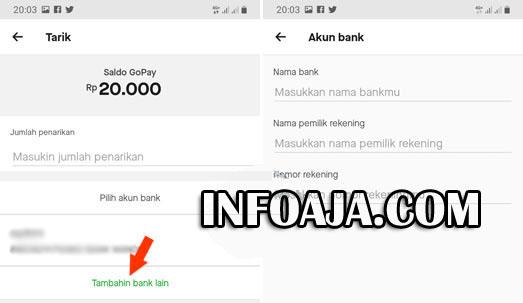Tambah bank lain