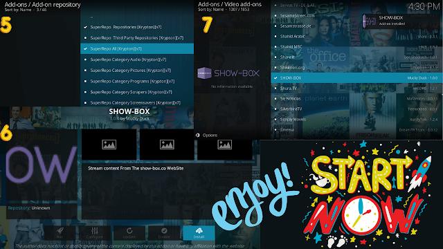showbox kodi box installation