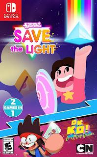 STEVEN UNIVERSE: SAVE THE LIGHT Switch NSP