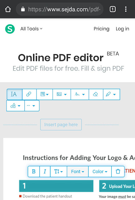 Edit PDF document online