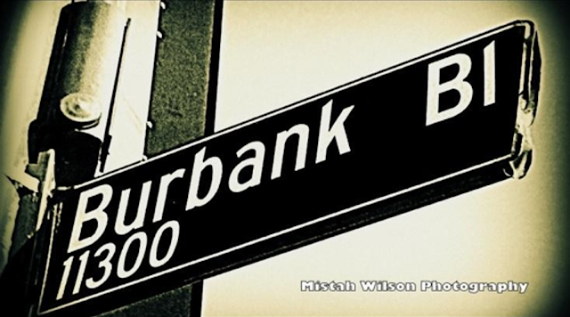 Burbank Boulevard, North Hollywood, California by Mistah Wilson
