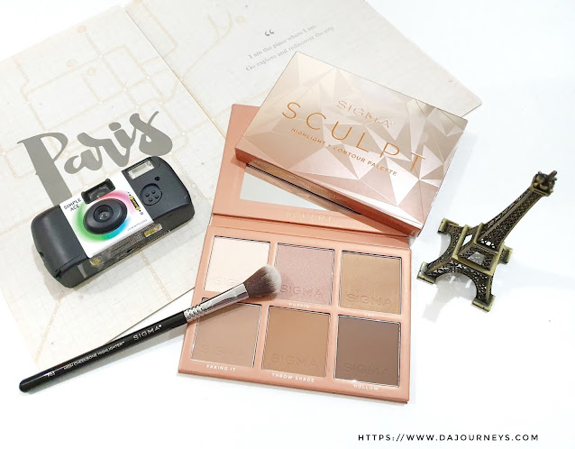 Review Sigma Beauty Sculpt Highlight and Contour Palette