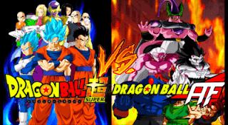 Dragon Ball Super Vs Dragon Ball AF ISO PPSSPP Mod Permanent Menu Free Download