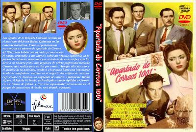 Carátula dvd: Apartado de Correos 1001