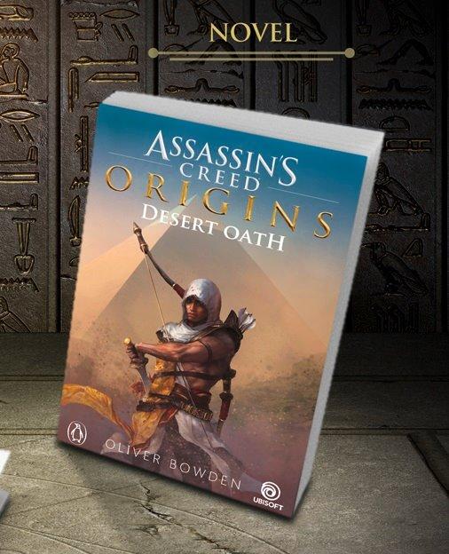 Masyaf News: Assassin's Creed: Desert Oath - Livro do Origins!