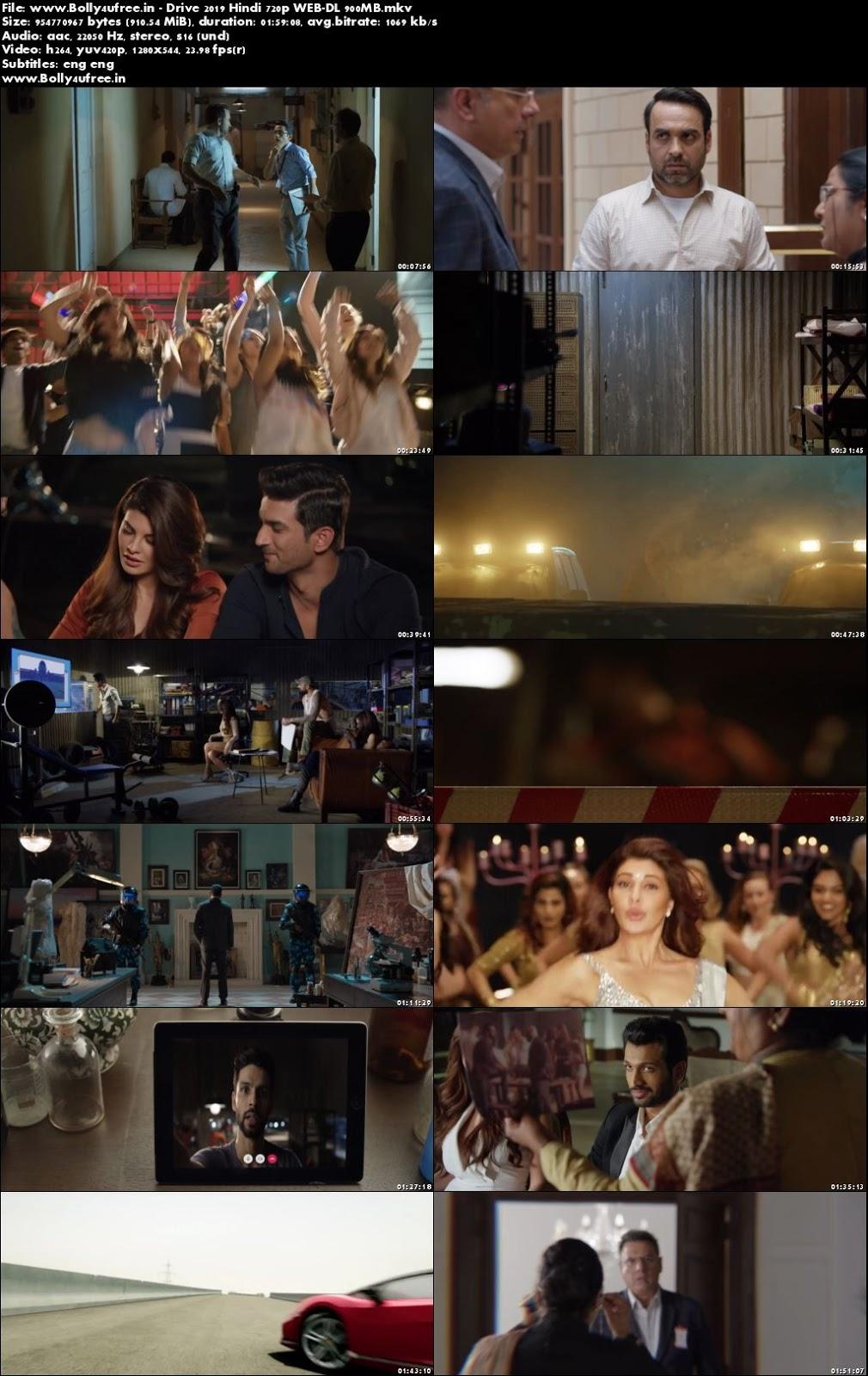Drive 2019 Hindi WEB-DL 300Mb 480p
