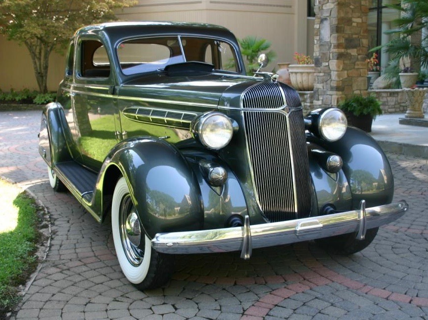 Car Style Critic: The Fencer's Mask Grille Fad of 1936