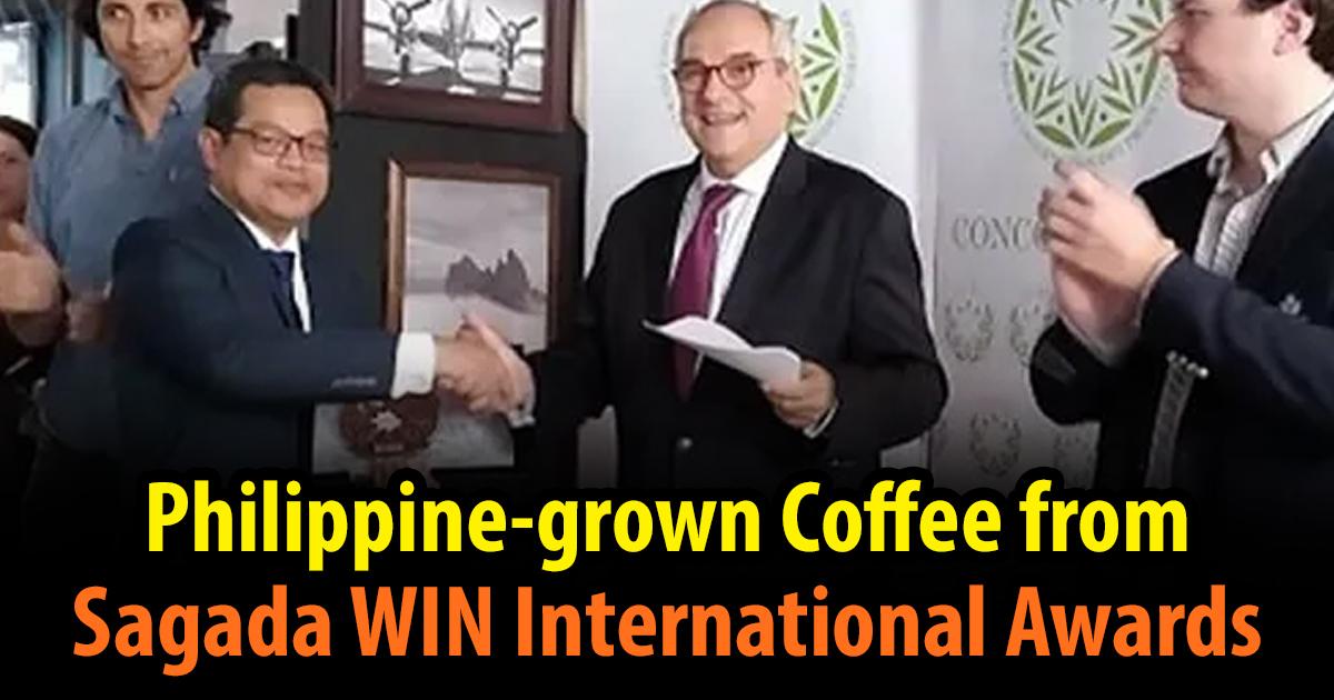 Philippine-grown Coffee from Sagada WIN International Awards in Milan